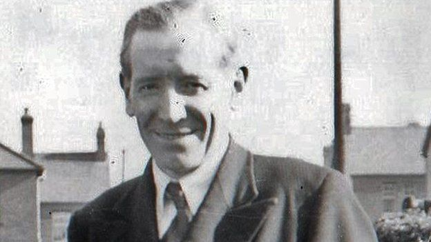 Eleazor Thomas in 1938 at the age of 53, says Cindy Sharkey