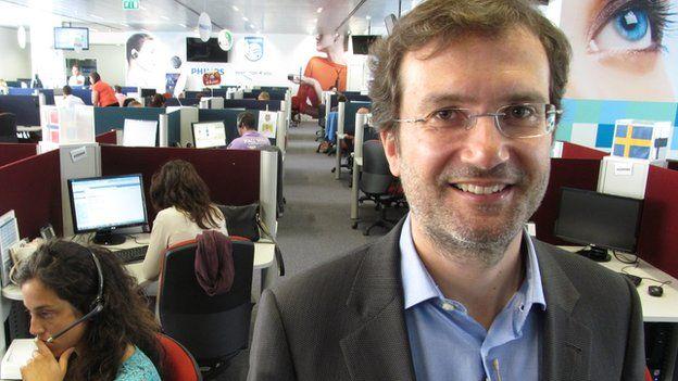 Joao Cardoso, chief executive officer of Teleperformance Portugal