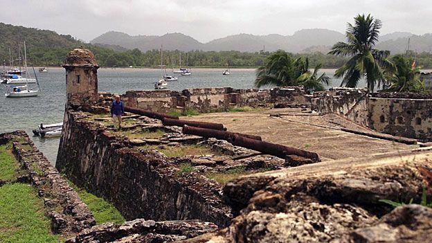 Ruined fort at Darien