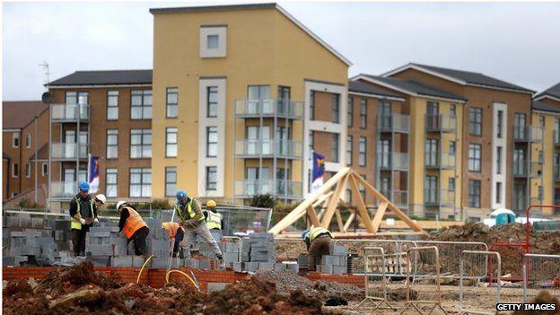 Building site in Bristol