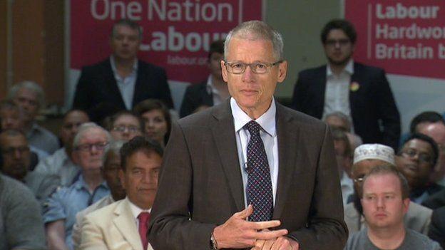 Alan Buckle addresses Labour activists