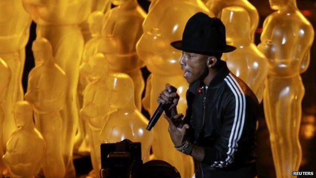 Pharrell Williams at the Oscars