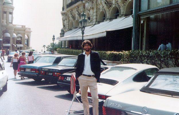 Bill Kaplan in Monte Carlo, 1982
