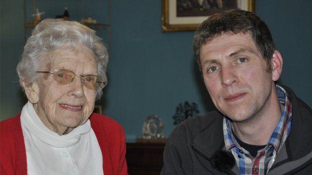 Doris Cobban and Ben Robinson