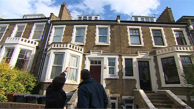 House in Stoke Newington which was the first ever in London to be attacked from the air