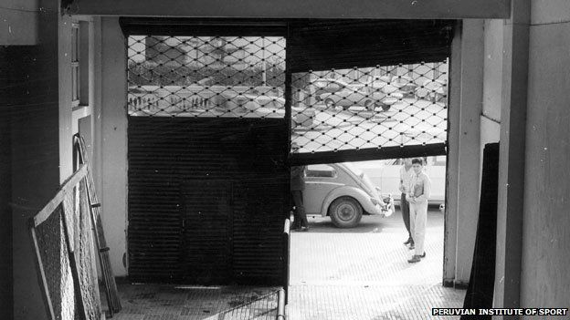 Lima stadium gate
