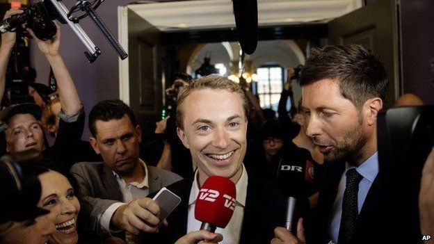 Morten Messerschmidt, principal candidate for Danish People's Party