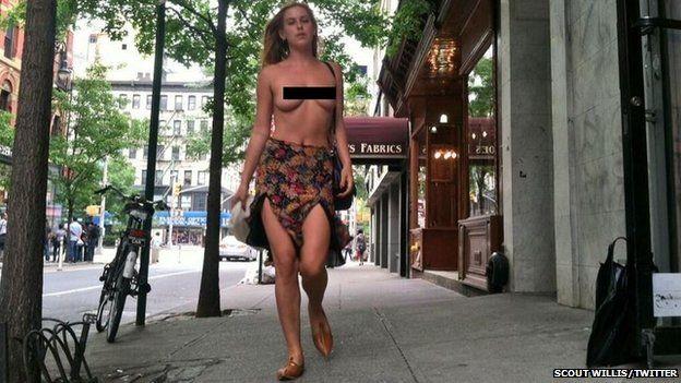 Bruce willis naked