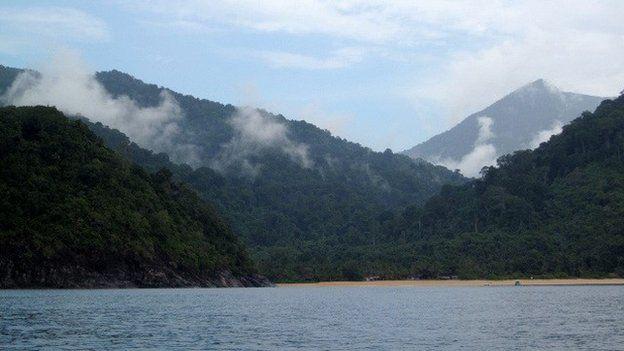 East coast of Tioman