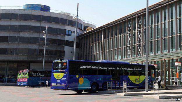 Marseille coach station (1 June 2014)