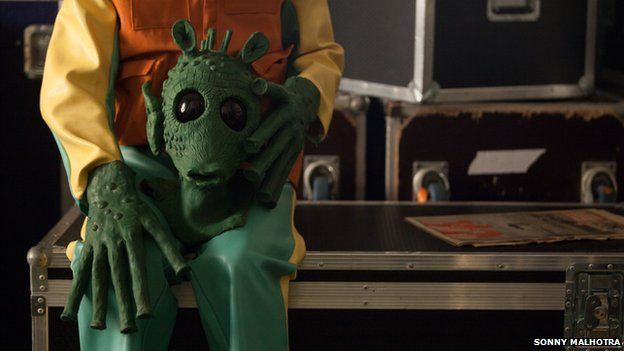 Greedo with his mask off
