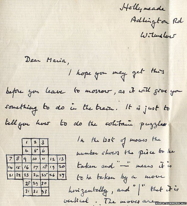 Letter to Maria