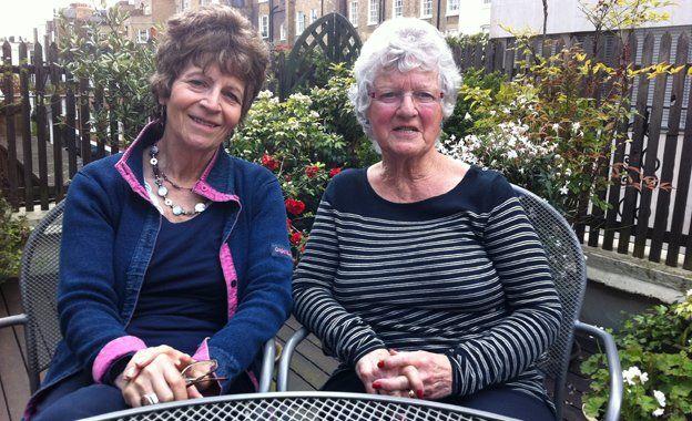 Maria and Barbara Greenbaum