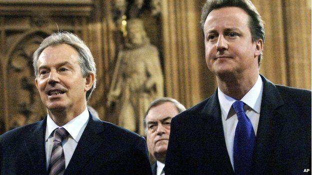 Tony Blair and David Cameron