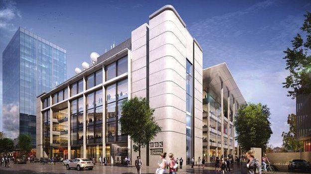 new BBC headquarters Cardiff