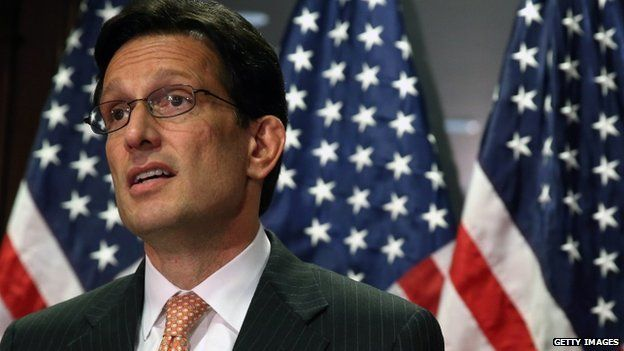 House Majority Leader Eric Cantor appeared in Washington on 20 May 2014