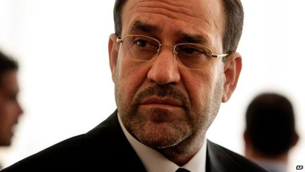 File photo: Nouri Maliki