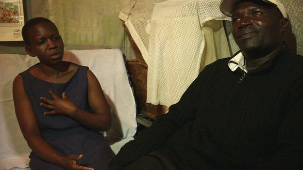 Veronica and Maurice Adongo