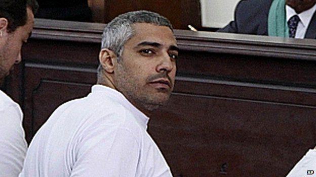 Al-Jazeera English bureau chief Mohammed Fahmy