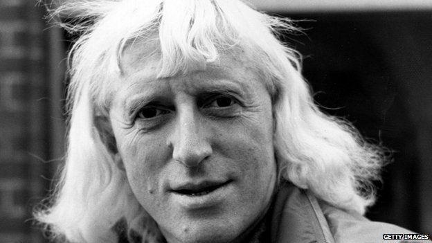 Jimmy Savile in November 1973