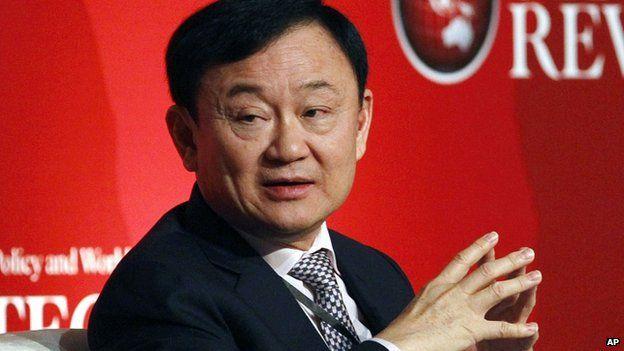 Thaksin Shinawatra in July 2012