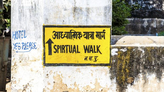Indian sigh: Spirtual Walk