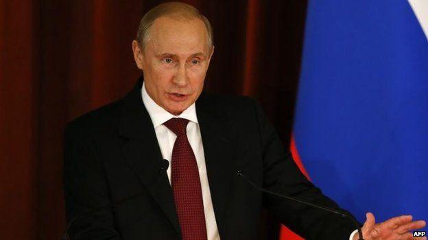 President Vladimir Putin, Moscow, 1 July