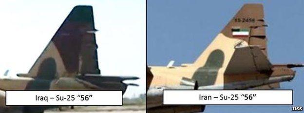 Image comparing jets