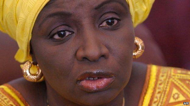 Aminata Toure. Photo: April 2014