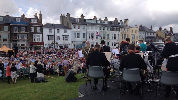 Remembrance concert in Deal