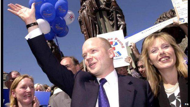 William Hague 2001 election