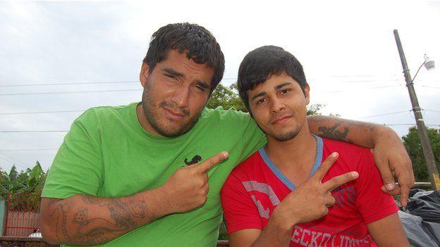 Ricardo and Oscar in June 2014