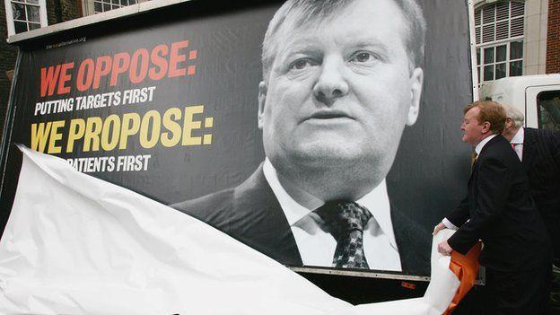 Lib Dem election poster 2005