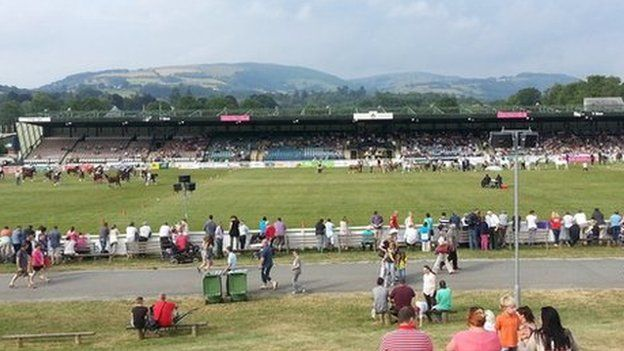 The Royal Welsh showground