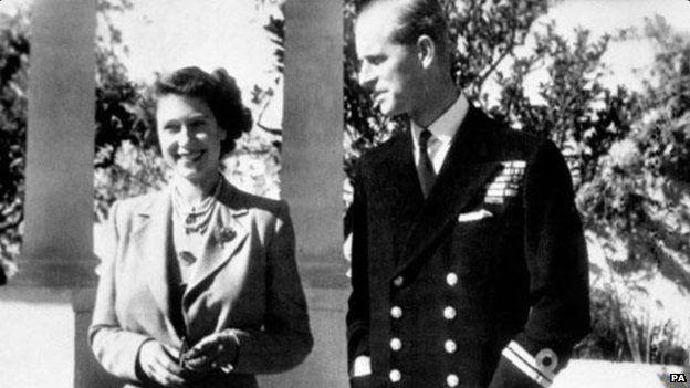 The Queen and the Duke of Edinburgh in Malta