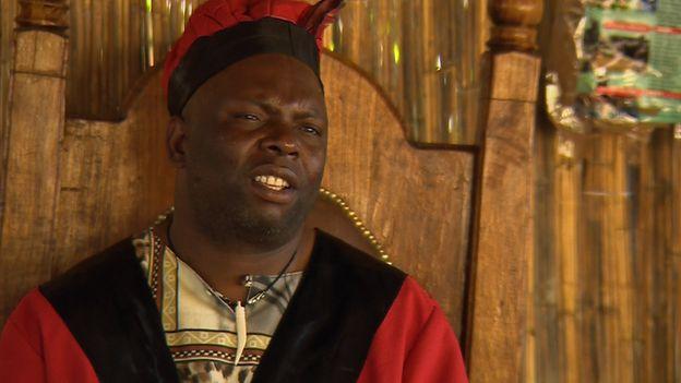 Chief Chamuka VI of the Lenje