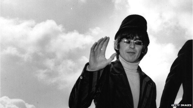 George Harrison in 1966