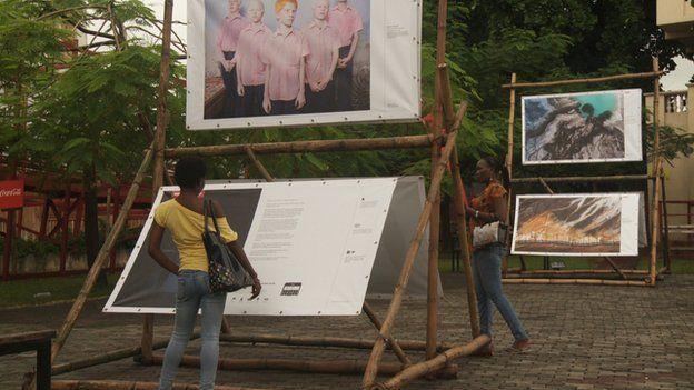 Exhibition in Freedom Park, Lagos, Nigeria (July 2014)