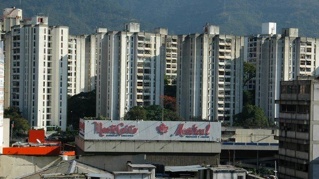 Skyline view of Caracas (file photo)