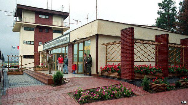 File pic of Szymany airfield, Poland