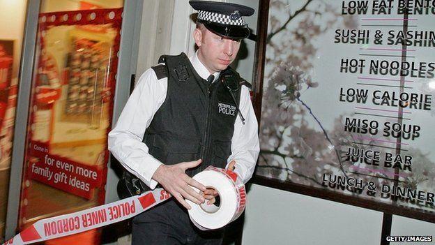 Police seal off Itsu restaurant