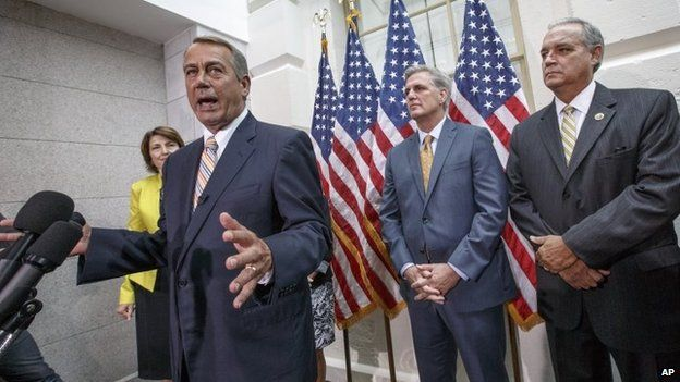 Republicans House leaders (July 29 2014)