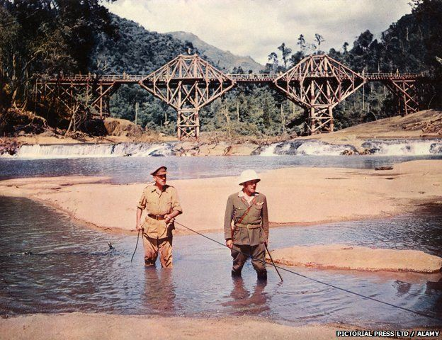 Image from the film Bridge on the River Kwai