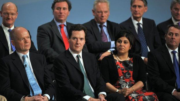Lady Warsi joined the cabinet when David Cameron entered Downing Street in 2010