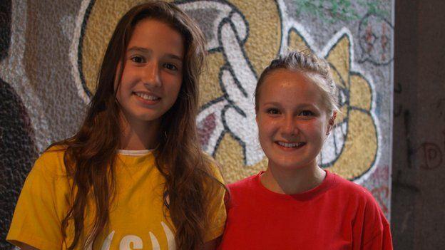 Nikolina and Samra