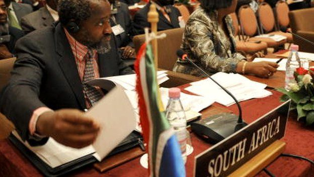 Pallo Jordan attends an African Union cultural ministers conference in Algeriia - 22 October 2008