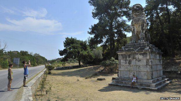 Lion of Amphipolis (file pic)