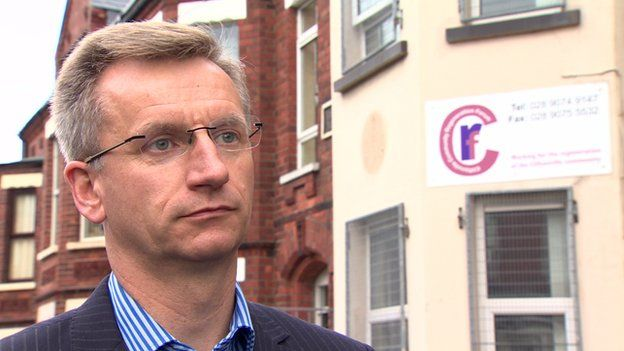 Brian Kingston has condemned those who forced the removal of the plaque