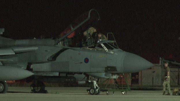 Tornados arrive in Cyprus
