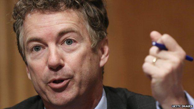US Senator Rand Paul of Kentucky.